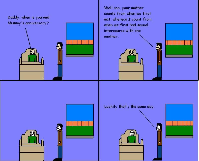 A Comic I Made Comic-Anniversary
