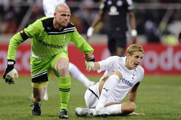 Player of the Season for each team Brad-Friedel-Tottenham