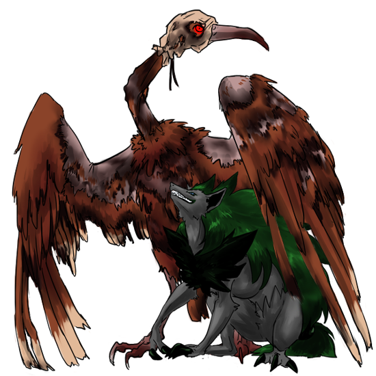 Loki the Shiny Zoroark & Crane the Revived Fearow || Viridian, Kanto Cranelokizoroark1