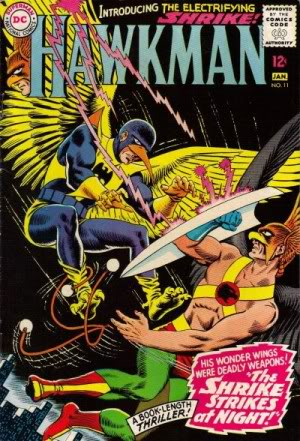 légion de super-héros de Cockrum Hawkman11