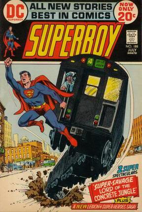 légion de super-héros de Cockrum Superboy188