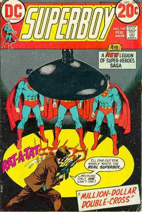 légion de super-héros de Cockrum Superboy193