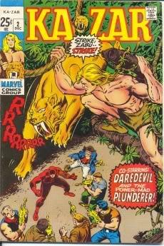 Ka Zar #2,3 +Marvel Tales #30 Marv1