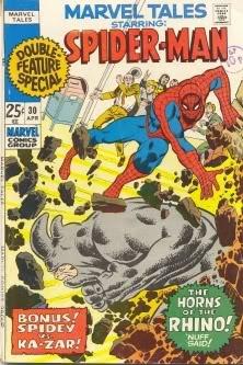 Ka Zar #2,3 +Marvel Tales #30 Marv7