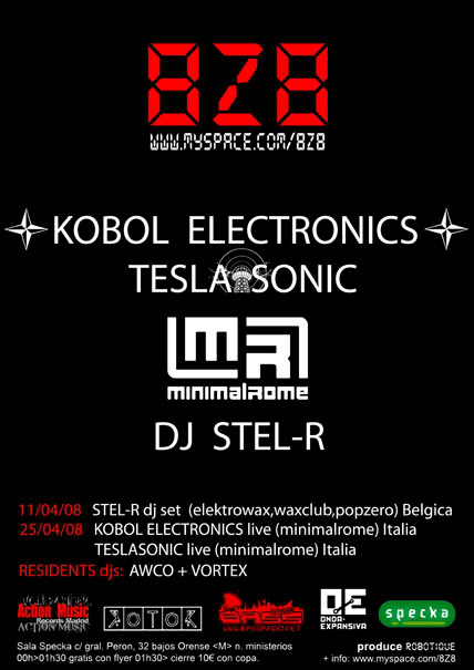 exclusive mix by Kobol Electronics for 716 : Computer Pervaded Showcase 8z8_FLYER_ABR08