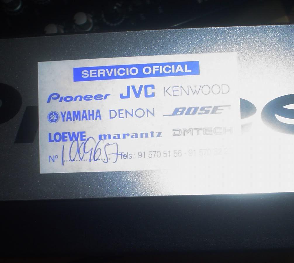 Vendo CDJ800 Mk1 CDJ800_032