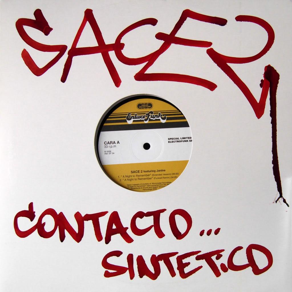 GANADORES VINILO FIRMADO POR SACE2 y 2 DE SUS CDs - ¡FUTURO COLECTOR! SACE2maxi