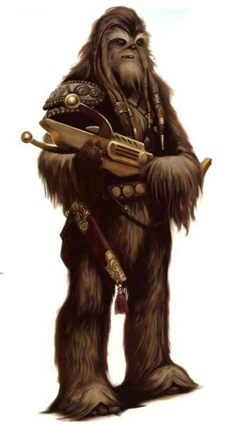 Character Species On SWOE Wookiee