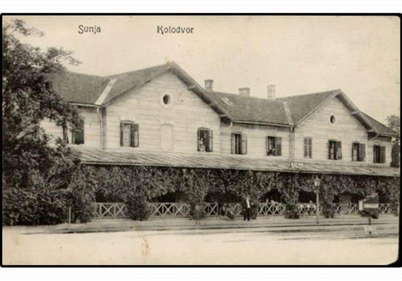 Kolodvori na razglednicama Sunja_kolodvor