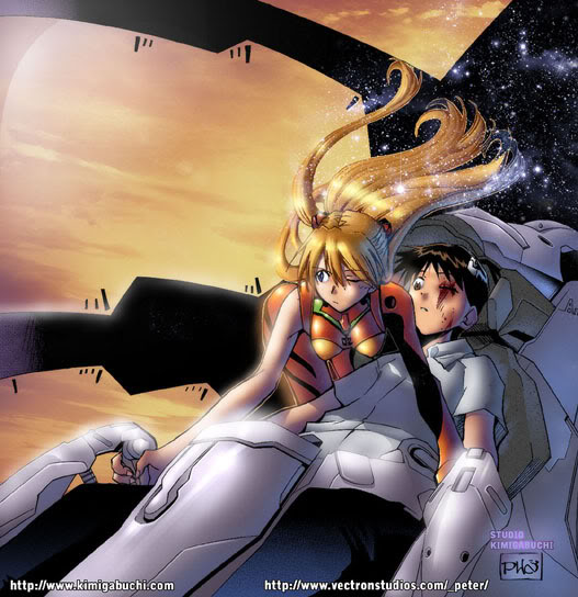 Neon Genesis Evangelion RE-TAKE Retake4pagebymastafuuah3