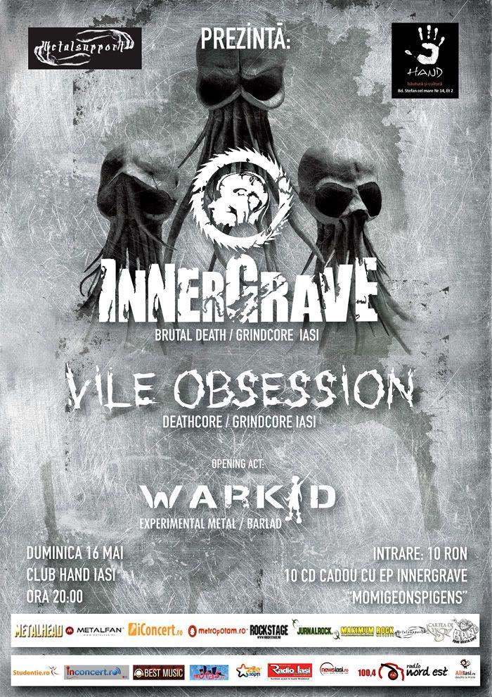 Concert INNERGRAVE, VILE OBSESSION & Warkid AFISIASIresize