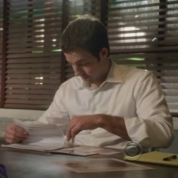 Psicólogo del comportamiento Nate Getz (Peter Cambor) N1