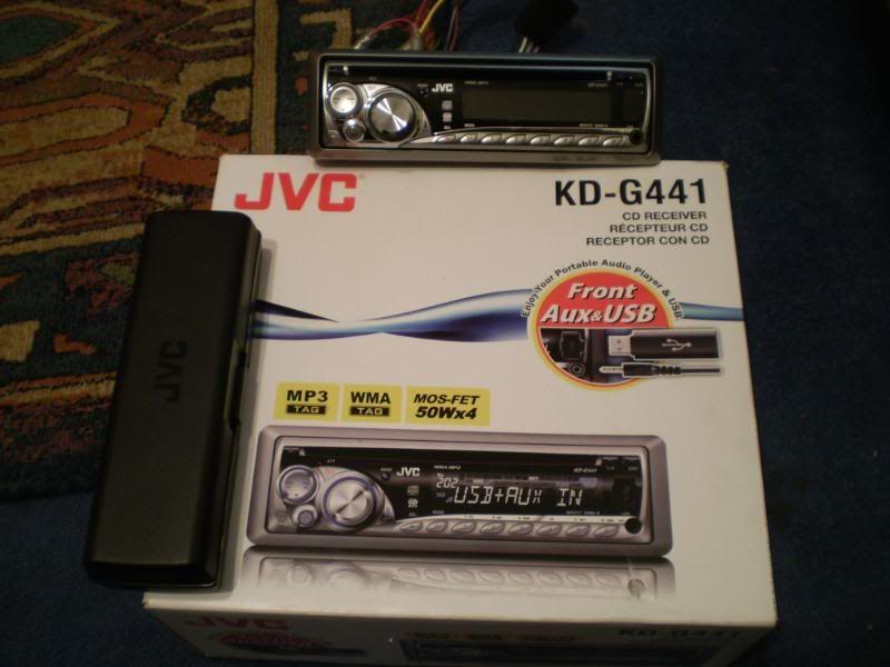 JVC MP3 WMA CD player- boxed P1010187