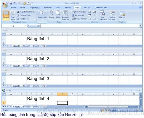"""Những """"tuyệt chiêu"""" trong Excel H01_03"""
