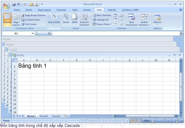 """Những """"tuyệt chiêu"""" trong Excel H01_05"""