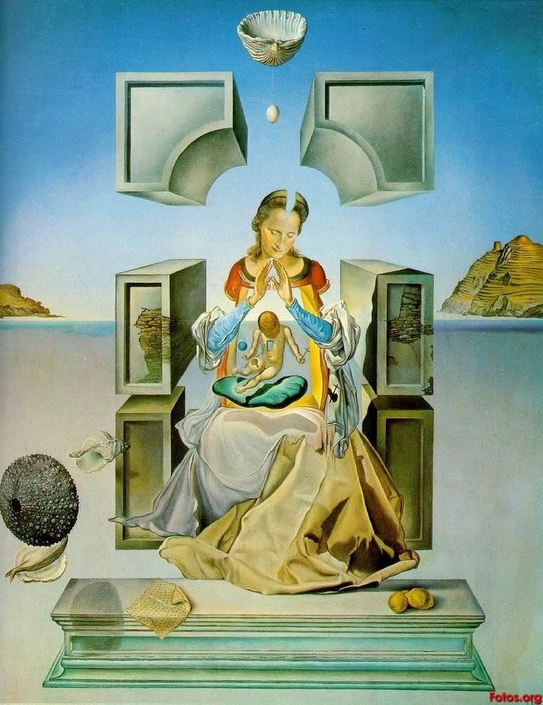 Eugenio Salvador Dalí 3Salvador-Dali-The-Madonna-of-Port-