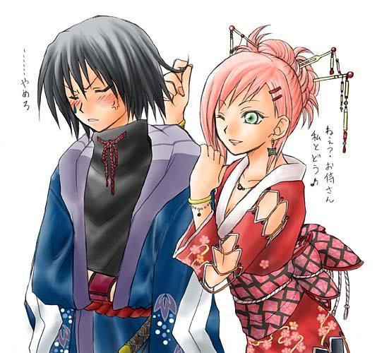 Galería de Imágenes: Sakura-chan SasukeSakura