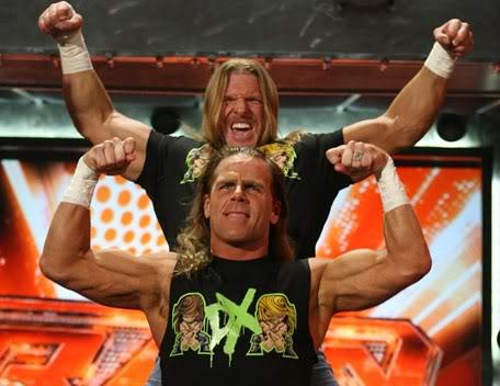 Triple H vs Shawn Michaels D-GenerationX