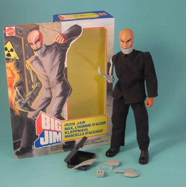 BIG JIM - Bigjim - MATTEL Iron-Jaw-in-box