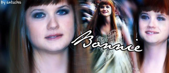 Ginny Weasley/Bonnie Wright Bannerbonnieootp1