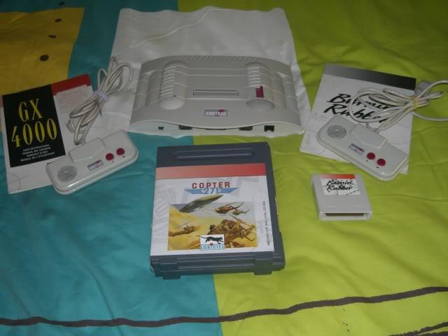 Colección de Umbrella AmstradGX4000