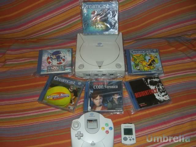Colección de Umbrella Dreamcast