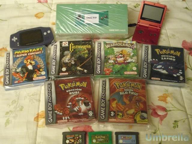 Colección de Umbrella GameBoyAdvanceGBASPGBMicro