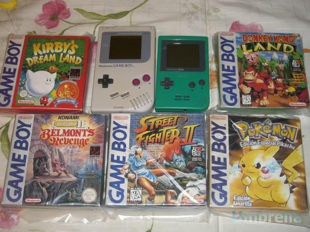 Colección de Umbrella GameBoyClasicaGameBoyPocket