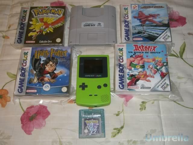 Colección de Umbrella GameBoyColor