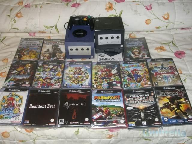 Colección de Umbrella GameCubeGameBoyPlayers