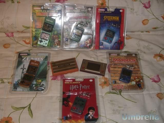 Colección de Umbrella GameWatch
