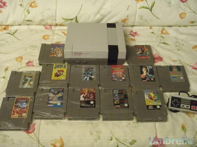 Colección de Umbrella NintendoNES