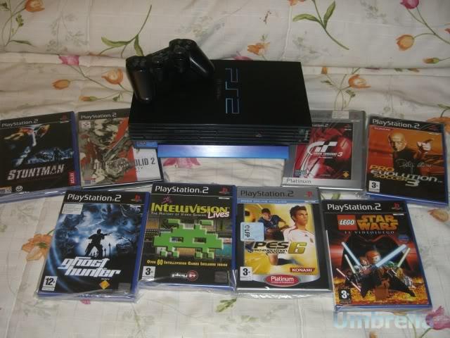 Colección de Umbrella Playstation2