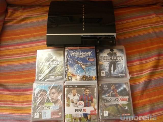 Colección de Umbrella Playstation3