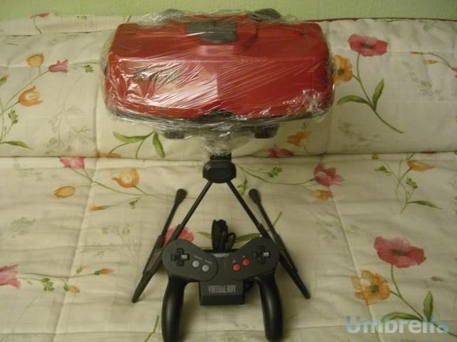 Colección de Umbrella VirtualBoy