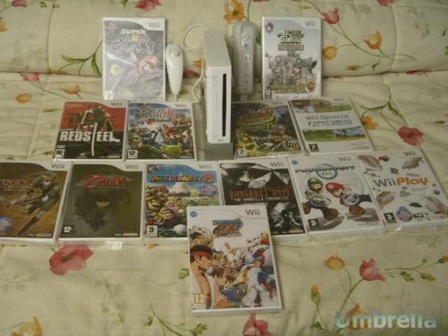 Colección de Umbrella Wii