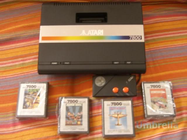 Colección de Umbrella Atari7800