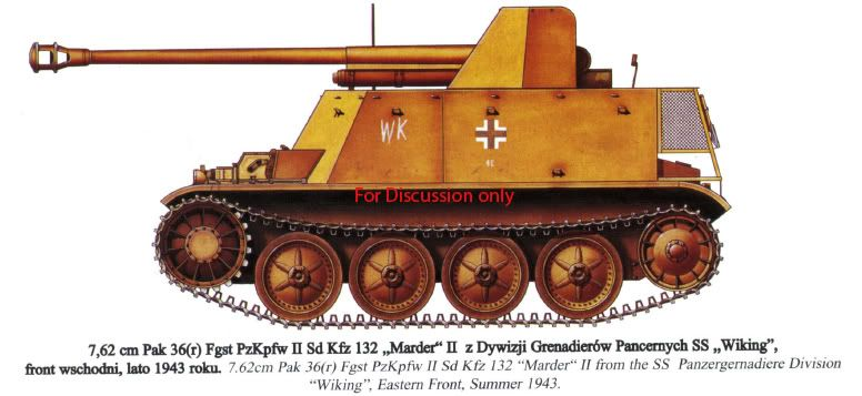 Erik's Build - 7,62 PaK 36 (r) (Sd.Kfz. 132)- Marder II D MarderIIDcolorplate