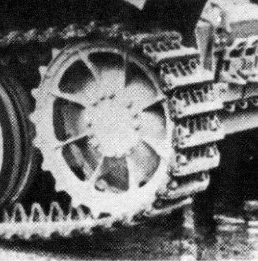 Erik's Build - 7,62 PaK 36 (r) (Sd.Kfz. 132)- Marder II D - Page 2 Sprocketwheel