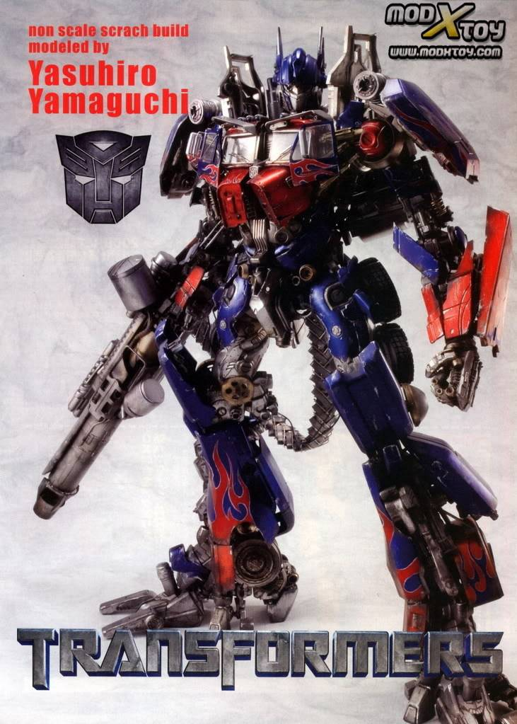 Optimus Prime.  haven't seen this one before Transformers-1