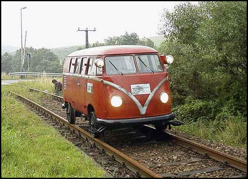 Cool and strange VW's Volkswagen_20Train