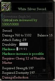 New Contents which are currently testing HM12Sword