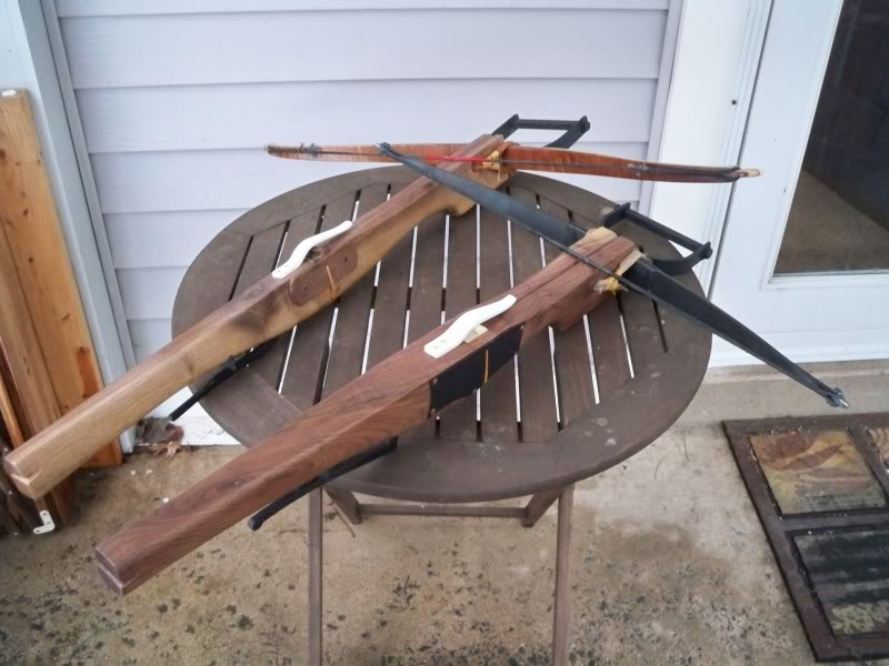 Finished another medieval style crossbow 103_8407