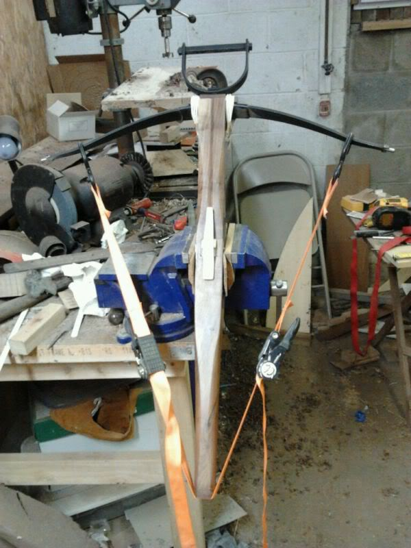 stringing difficulty Bracingcrossbow