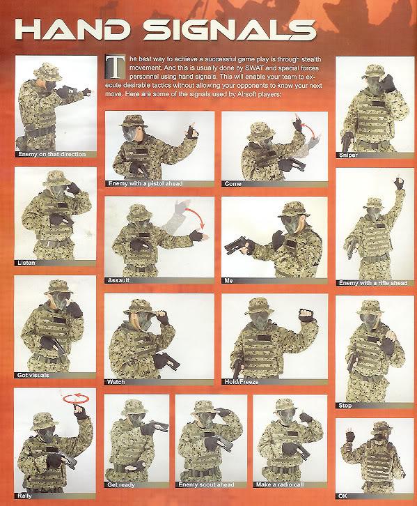 Hand Signal Hand