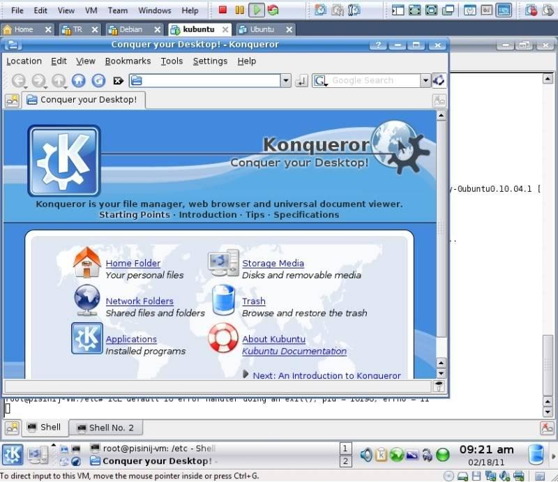 bare bones distro running TDE Desktopscreen2