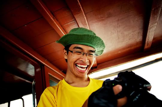 4th October 2008:  Pulau Ubin Outing Jeremy