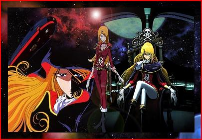 Captain Harlock : Queen Emeraldas dub QueenEmeraldas2