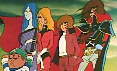 Captain Harlock : Arcadia of my youth dub Harlock-6