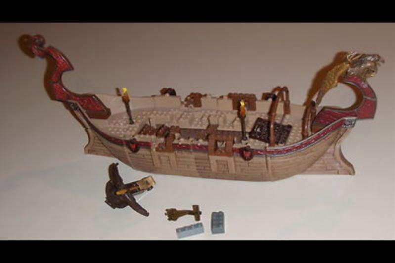 Mega Bloks navire viking 1-2